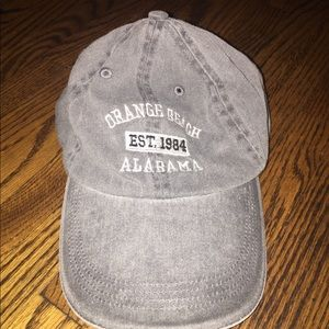 Orange Beach Alabama Gray Hat